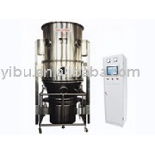 Fluidized bed dryer and granulator