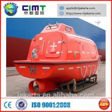 FRP barco de rescate rápido / bote salvavidas cerrado CCS ABS