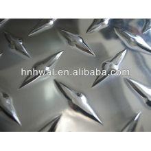 bright Aluminum chequered plate 1060