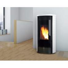2016 New High Quality Wood Pellet Stove with Marble Top Panel