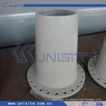 Tubo de acero resistente al desgaste thich para el dragado (USC-7-002)