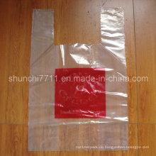 Großer klare Plastik Einkaufstasche