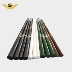 Insulating teflon ptfe round bar / ptfe rod