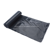 Bolsa de basura de polietileno de color negro