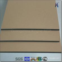 Décoration de bâtiment externe PVDF Aluminium Composite Panel Price
