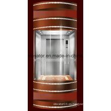 Precio bajo seguro del elevador panorámico en China (JQ-A002)