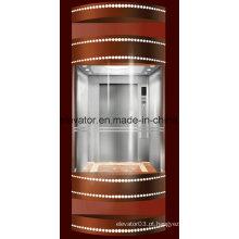 Preço baixo seguro do elevador panorâmico em China (JQ-A002)