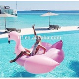 Factory price gaint plastic pink inflatable flamingo
