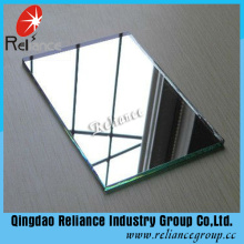 1.5-2mm Klarglas Glas Spiegel / Aluminium Spiegel