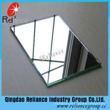 Lieferungs-Qualitäts-Dekorations-Glas / Spiegel für Wand