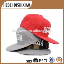 Boy Broderie Design chapeaux de snapback bon marché, chapeaux personnalisés en forme de snapback en gros