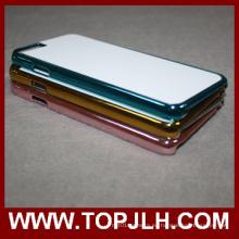Teléfono móvil accesorios sublimación metálica teléfono cubierta para el iPhone 6