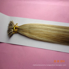 Russian nano ring wholesale hair extension Piano color virgin human hair extension