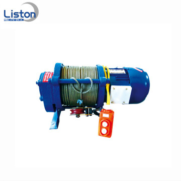 2Ton kabel Menarik Winch Wire Rope Electric Winch
