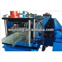YTSING-YD-4199 Passed CE / ISO / SGS Galvanisierte Z Purlin Roll Umformmaschine, Metall Z Purlin Making Machinery
