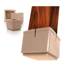 Durable Soft Silicone Chair Leg Floor Protectors