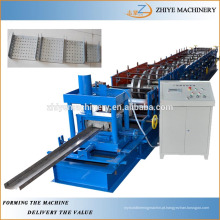 Cor Aço U seção Purlin telhas Roller anterior fazendo a máquina