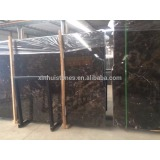 First grade China Emperador dark marble big slabs polished slabs from quarry owner factory
