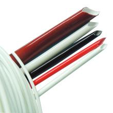 Tubos da luva da fibra de vidro envernizada silicone da isolação do fio 4KV