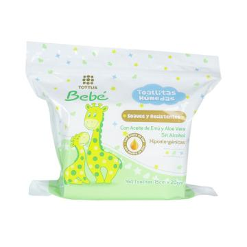 OEM Ultra-Soft Biodegradable Baby wet Wipes