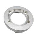 Graveur Cnc Aluminium Anodisé Argent Haute Précision