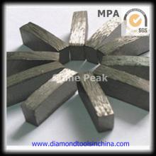 Segmento de diamante para corte de granito