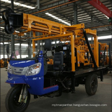 Truck-mounted hydraulic drill well drill
