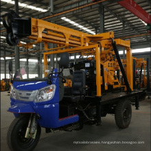 Truck-mounted hydraulic drill well drill