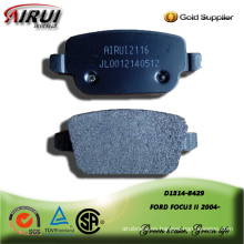 Semi-metallic brake pad for FORD FOCUS II 2004-