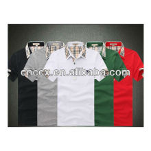 13PT1018 High quality cotton slim fit polo shirts wholesale china