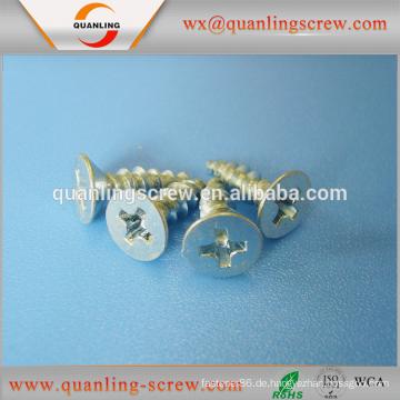 Großhandel China Markt Flachkopf Kreuz vertiefte Spanplatten Schraube