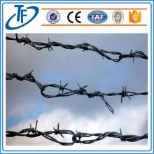 Fábrica de alambre de púas de acero