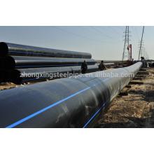 Tuyau en polyéthylène de haute qualité pour l'approvisionnement en eau
