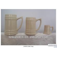 Haonai 2014 Многофункциональные белые кружки из керамического кружка для пива