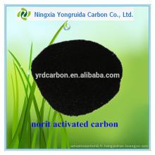 Prix de charbon actif en poudre de Methylene 12 / carbone activé par Norit