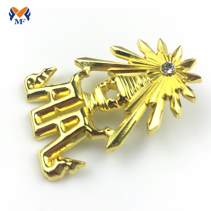 Gold Plating Badge
