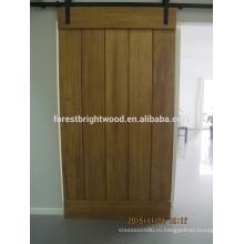 Натуральное дерево, раздвижные двери сарая оборудования