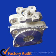Válvula de agulha de flange de aço inoxidável de válvula de aço inoxidável