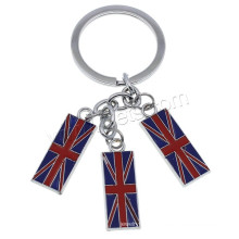 2016 nouveau design Flag Enamel Zinc Alloy Key Chain
