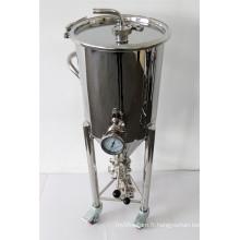 Fermètre conique et réservoir de fermentation 30L 50L en acier inoxydable