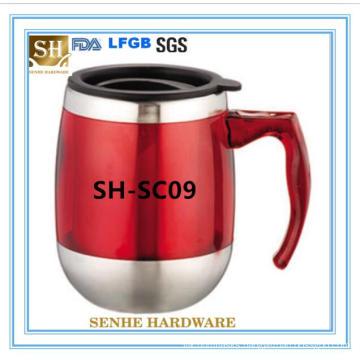 Custom Printed Contigo Stainless Steel Vacuum Sealed Travel Mug (SH-SC09)
