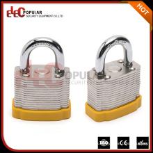 Elecpopular Yueqing OEM cerradura de seguridad reforzada de acero laminado corto Shackle locker bloqueos