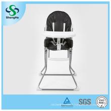 Simple Baby High Chair Factory Chaise à dîner pour bébé en gros