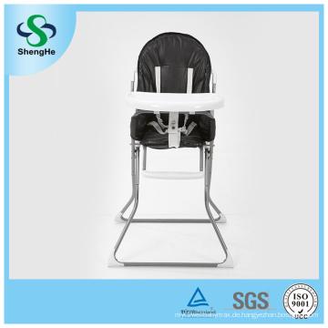 Heißer Verkaufs-Sicherheits-Fütterung-hoher Stuhl mit Auflage Y-Form Nursey Baby-Stuhl für Mahlzeit (SH-G1)