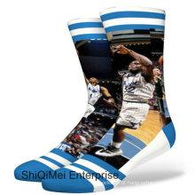 2016 novos produtos homens personalizado impressão Digital sublimação meias