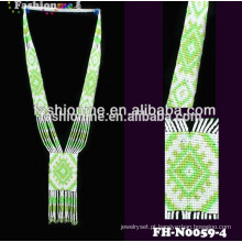 Transporte rápido colares artesanais do grânulo projeta joias colar