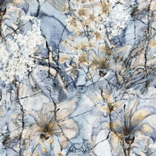 Tela de satén de seda elástica impresa digital personalizada de fábrica