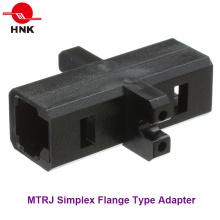 MTRJ Simplex Tipo de brida Adaptador de fibra óptica