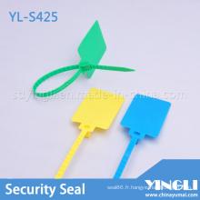 Scellés de sécurité en plastique avec grande étiquette (YL-S425)