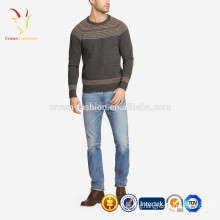 Men Winter Heavy Knit Wool Pullover Thick Sweater